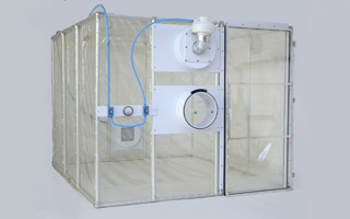 Class Biologically Clean flexible film containment units.